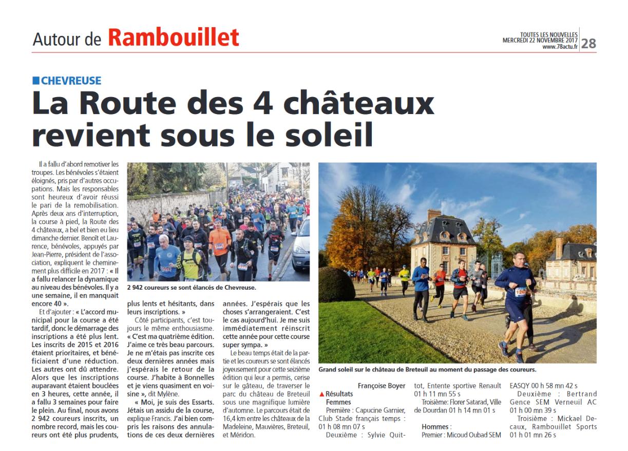 Toutes les nouvelles de Rambouillet